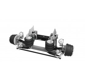 8,000 LB - LINK STEERABLE LIFT AXLE (HUB PILOT WHEEL ENDS)