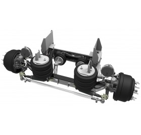 20,000 LB - LINK STEERABLE LIFT AXLE (AXLE, DURALIFT II, 20K)