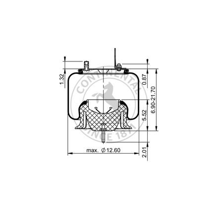 Airbag Contitech 9648 64263 As9648c