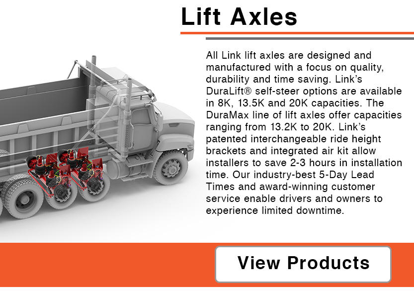 Button to Reach Lift Axle Page